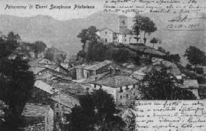 veduta di Sambuca Pistoiese inizii '900