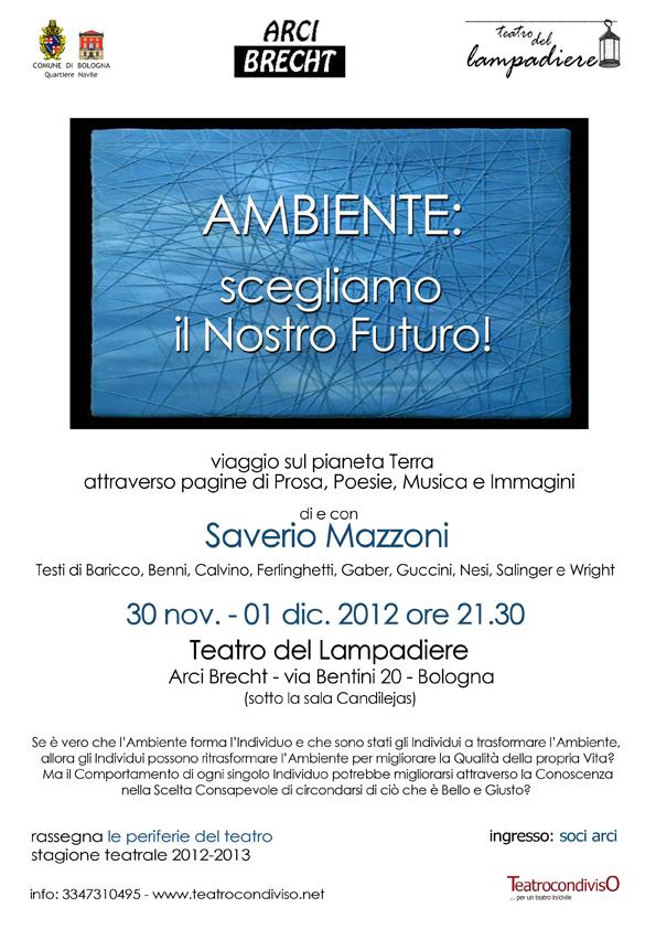 manifesto Ambiente lampadiere 2012