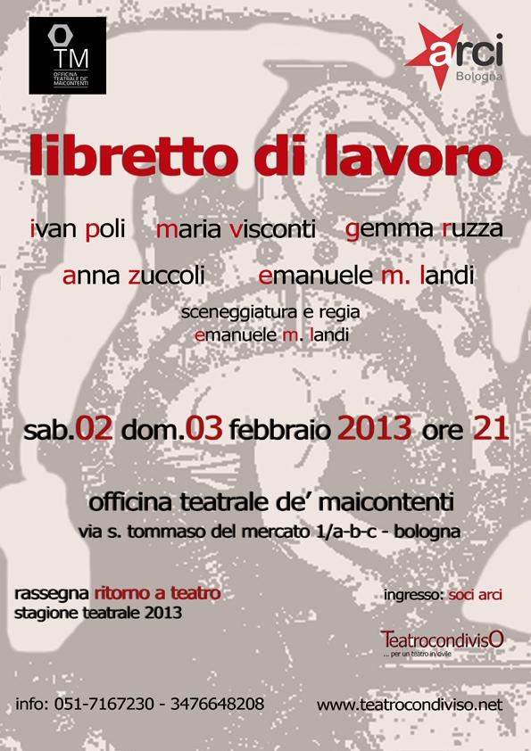 manifesto 02 - 03 febbraio 2013