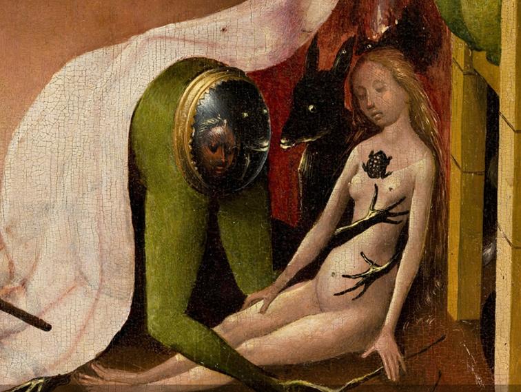 Bosch, Hieronymus - Trittico Giardino delle delizie - particolare